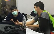 Phóng viên châu Á phòng xa virus Vũ Hán, tạo nên hình ảnh chưa từng có ở trận chung kết U23 châu Á 2020