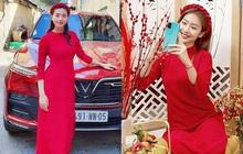 """Ngắm """"cô – cháu"""" Ngô Thanh Vân và Khả Ngân đụng công thức áo dài đỏ thắm mới bàng hoàng nhận ra: Thời gian đã bỏ quên """"đả nữ"""" 41 tuổi rồi!"""