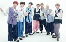 """BTS """"lột xác"""" khi diện hanbok trên show thực tế nhân dịp đầu năm mới"""