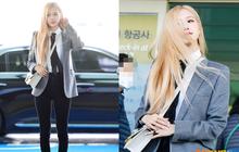 Rosé (BLACKPINK) gây sốt tại sân bay ngày đầu năm: Khí chất quyền lực tựa nữ CEO, không hở vẫn khoe trọn body mãn nhãn