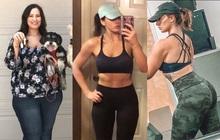 """Cô nàng """"nghiện"""" cử tạ bày cách giảm gần 75kg khiến ai nấy đều phải trầm trồ muốn thử"""