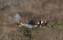 Cận cảnh hiện trường vụ tai nạn rơi máy bay khiến huyền thoại Kobe Bryant và con gái cùng 7 người khác tử nạn