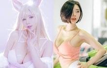 """Khó thở trước vòng một của cô nàng cosplayer Hàn Quốc, là nam nhân thì phải """"đứng hình"""" hơn 5 giây"""