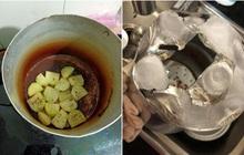 Tuyển tập những tai nạn nấu ăn ngày đầu năm: Còn mùng là còn Tết nhưng với hội gái đoảng thì không