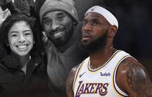 """LeBron James chia sẻ những cảm xúc đầu tiên sau sự ra đi của Kobe Bryant: """"Tôi hứa sẽ kế thừa những di sản mà anh để lại"""""""
