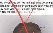 Công an Quảng Ninh, Hải Phòng truy tìm kẻ tung tin nhiều người nhiễm bệnh do virus corona