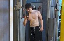 Kelvin Khánh khoe body 6 múi vẫn nguyên vẹn sau Tết, nhưng ai ngờ lại vạm vỡ đến mức này!