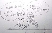 """Cảm giác ì ạch hậu nghỉ lễ của tụi học trò: """"Mày còn nhớ đường đi học không?/ Đợi tý! Tao tra Google Map"""""""