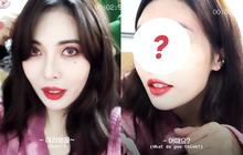 Đã quen với phấn son, Hyuna gây choáng với quá trình tẩy trang: Càng kéo xuống càng lộ mặt mộc mỹ miều