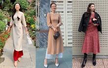 Street style Tết của hội hot girl sành mặc Instagram: Dù diện áo dài hay váy áo kiểu cách cũng đều sang chảnh, xinh tươi hết nút