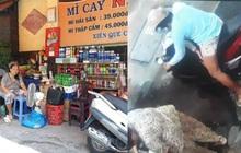 Đã bắt được người phụ nữ chở con dàn cảnh trộm túi tiền của cụ bà bán tạp hóa ở Sài Gòn