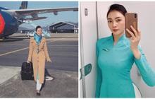 """Các tiếp viên hàng không đều có dăm ba kiểu ảnh y xì nhau, mượn máy bay làm """"phụ kiện"""" sống ảo luôn mới đỉnh"""