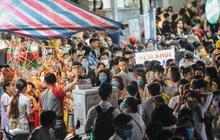 Chùm ảnh: Người dân 3 miền chen chúc nhau toát mồ hôi trong đêm Trung thu