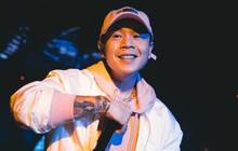 Hậu nghi vấn hát nhép, Binz có màn trình diễn hát live 100%, giọng thật còn át luôn cả tiếng nhạc nền