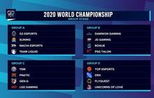 CKTG 2020: 4 bảng đấu chính thức lộ diện, ngôi sao SofM của Việt Nam rơi vào bảng đấu khó với nhiều đội tuyển sừng sỏ