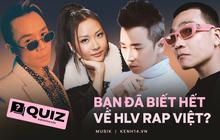 """Xem mê mệt Rap Việt nhưng bạn có biết vị HLV nào từng """"diss"""" cả showbiz, ai từng biểu diễn tại đại nhạc hội lớn nhất nước Mỹ?"""