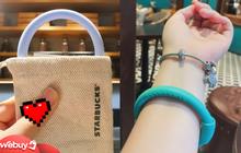 Ống hút tái sử dụng Starbucks đang gây sốt: Đeo như vòng tay được luôn nhưng gây tò mò nhất là cách để cọ rửa