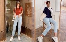 """10 set đồ với quần jeans đáng sắm nhất tại các shop lúc này, giá cả thì cực kỳ """"yêu thương"""""""