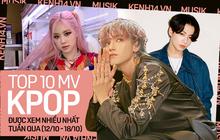 NCT lập kỷ lục chưa từng có trong lịch sử nhà SM, vượt mặt BLACKPINK, BTS thống trị top 10 MV Kpop được xem nhiều nhất tuần