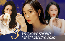 """3 mỹ nhân thị phi nhất Kim Ưng 2020: Victoria """"ké fame"""" loạt mỹ nam, Đồng Dao ngoại tình, bê bối nhất là Triệu Lệ Dĩnh"""