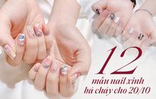 """12 mẫu nail xinh hết nấc cho các cô gái """"quẩy"""" 20/10, không làm thì phí lắm đây này"""