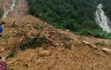 Sạt lở núi lấp hết một trạm bảo vệ rừng tại Quảng Bình