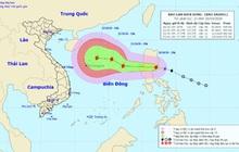 Ngày mai bão số 8 di chuyển vào biển Đông, có thể giật cấp 14