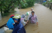 Khuyến cáo phòng tránh dịch bệnh cho người dân vùng lũ tại các tỉnh miền Trung