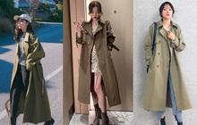 4 màu áo trench coat được những hội sành điệu diện nhiều nhất mùa lạnh, mặc vu vơ cũng ra cây đồ sang xịn ra trò