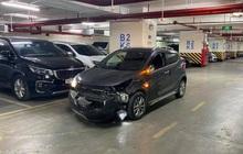Ô tô Fadil và xe Lexus rượt đuổi, chèn nhau như phim hành động trên đường phố Hà Nội
