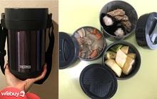 """Review hộp cơm giữ nhiệt Thermos giá tiền triệu: Quả là đồ Nhật, giữ nhiệt tốt, thiết kế đẹp, chỉ có điều """"hao ví"""" quá!"""
