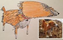 """Vẽ chó mèo """"xấu như ma cấu"""" nhưng vẫn bán được 150 triệu đồng, họa sĩ bèn đem đi từ thiện cho đỡ mang tiếng"""