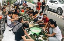 """Người Sài Gòn trắng đêm gói 5.000 bánh chưng, bánh tét gửi bà con vùng lũ, tiếp sức cho """"khúc ruột"""" miền Trung"""