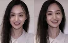 Tá hoả với gương mặt mộc của Trịnh Sảng: Cằm nhọn hoắt, làn da chảy xệ thiếu sức sống đến đáng lo ngại