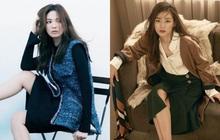 """2 tường thành nhan sắc đối đầu: Song Hye Kyo thoát """"dớp"""" sến nên sang hơn rồi, nhưng liệu có """"cân"""" được mợ chảnh Jeon Ji Hyun?"""