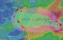 Điều dị thường ở cơn bão số 8 đang tăng cấp độ trên biển Đông