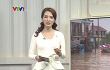 """Á hậu Thụy Vân """"tái xuất"""" dẫn bản tin trên sóng truyền hình sau tin đồn đã nghỉ việc tại VTV"""