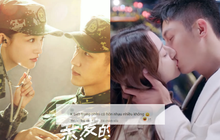 Lý Thấm - Hoàng Cảnh Du vừa nhìn nhau sương sương trên poster, netizen hỏi luôn: Rồi có hôn nhiều như đóng với Địch Lệ Nhiệt Ba?