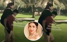 Tiêm 15 mũi thuốc/tuần, Hoà Minzy kiệt sức phải nhờ bạn trai thiếu gia cõng qua đường: Hình ảnh xót xa nhưng đầy ngọt ngào!