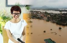 Nhà báo Trần Mai Anh kêu gọi quyên góp khẩn sách vở, đồ dùng học tập, áo ấm cho học sinh miền Trung