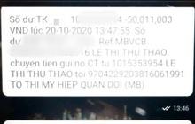 """Vụ """"Góa phụ Rào Trăng 3"""" bị lừa 100 triệu tiền hỗ trợ chỉ sau 2 cú điện thoại: Ngân hàng tạm ứng tiền cho nạn nhân"""
