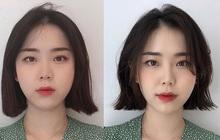 Tóc bob vểnh: Xu hướng mới được hội gái Hàn tíu tít book lịch cắt thời gian gần đây