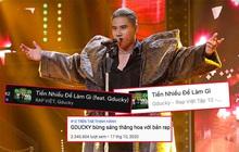 Sau màn trình diễn gây bão tại Rap Việt, Tiền Nhiều Để Làm Gì của GDucky leo thẳng #2 Apple Music, lọt top 50 ca khúc viral nhất Việt Nam