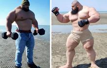 """""""Người khổng lồ xanh của Iran"""" gây sốt khi đăng hình khoe trọn body cực khủng, khiến cả làng võ phải dè chừng bằng tuyên bố mới nhất"""