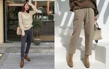 Công thức boots + quần với 3 chiêu nâng tầm 100% thời thượng cho các nàng mùa lạnh này