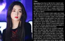 Irene (Red Velvet) bỗng được bênh vực hết lời giữa lúc bị quân đoàn ekip bóc phốt: Tin ai bây giờ?