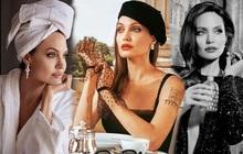 Bộ ảnh tạp chí cũ đầy quý tộc của Angelina Jolie bỗng hot lại: Đúng là nữ hoàng nhan sắc, bảo sao Brad Pitt từng mê muội