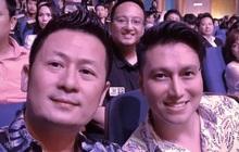 """Chung khung hình với Bằng Kiều ở sự kiện, Việt Anh khiến netizen hốt hoảng vì mũi lệch bất thường hậu """"dao kéo"""""""