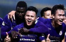 """Quang Hải """"nổ súng"""" phút cuối giải cứu Hà Nội FC, ăn mừng vỡ oà như đoạt chức vô địch"""