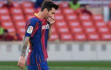 Messi cùng Barcelona thất thủ ngay trên sân nhà trước Real Madrid ở trận Siêu kinh điển